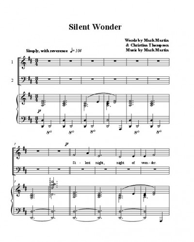 thumbnail of Silent Wonder – Octavo (preview)